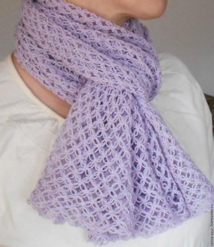 93_594_img1 Как связать шарф крючком